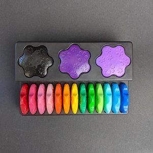 Flower Shape Crayon 16 colors